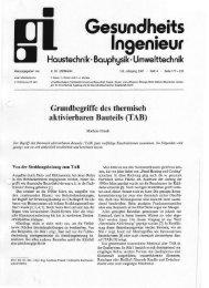 gi Gesundheits-Ingenieur - 2007 Heft 4 - Beuth Hochschule für ...