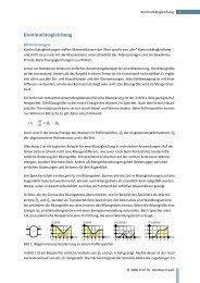 AB Kontinuitätsgleichung
