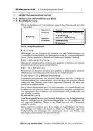 ANGER - Kap4 - Erhaltung - Beuth Hochschule für Technik Berlin