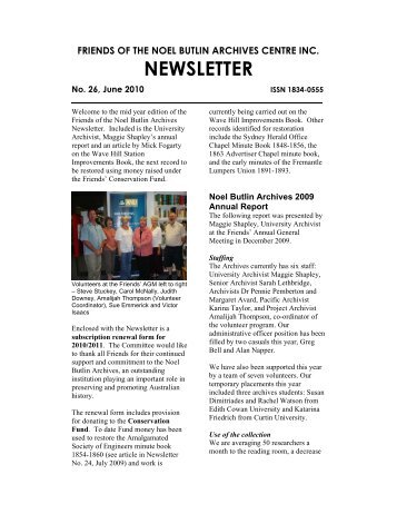 View this Newsletter - Labour History Resources