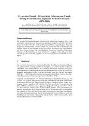 Grenzen im Wandel – GIS-gestützte Erfassung und Visuali ... - AGIT