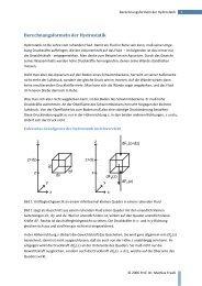 AB Berechnungsformel der Hydrostatik