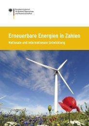 Erneuerbare Energien in Zahlen - Beuth Hochschule für Technik ...