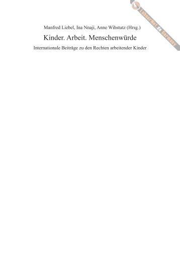 Inhaltsverzeichnis und Einleitung