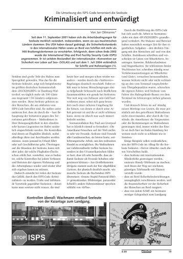 Artikel von Jan Oltmanns