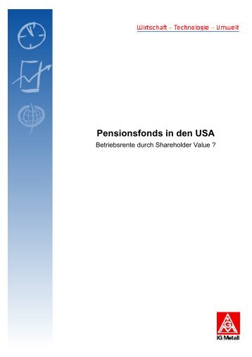 Pensionsfonds in den USA