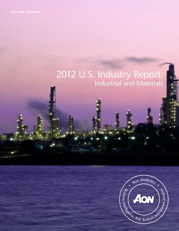 2012 U.S. Industry Report: - Aon