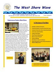 The West Shore Wave - Lakewood City Schools