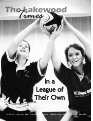 In a League of Their Own - Lakewood City Schools