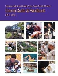 2013-2014 Course Guide & Handbook - Lakewood City Schools