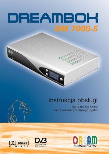 Dreambox 7000 quide
