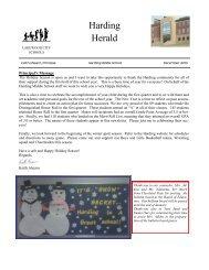 Harding Herald - Lakewood City Schools