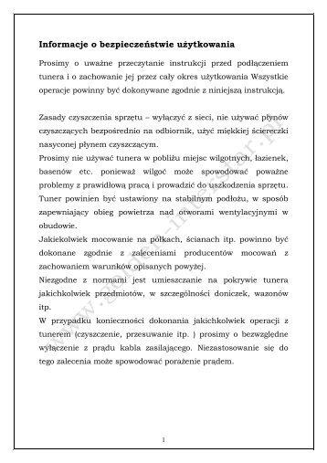 instrukcja Xpeed kopia
