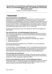 Info Durchfuehrung und Bewertung AE-Pruef. 08.09