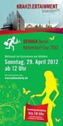 Sonntag, 29. April 2012 ab 12 Uhr - AG City