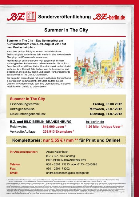 Summer In The City - AG City