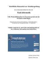 webbasierte Informatiksystem