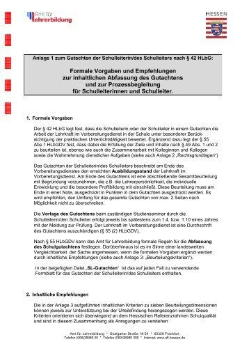 SL-Gutachten-Anlage 1 -Vorgaben - Hessen