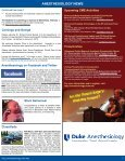 News - Department of Anesthesiology - Duke University - Page 5