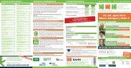 Besucher Flyer - Corporate Health Convention
