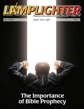 Lamplighter Mar/Apr 2012 - Lamb & Lion Ministries
