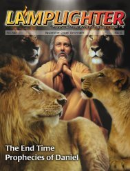 Lamplighter Nov/Dec 2009 - Lamb & Lion Ministries