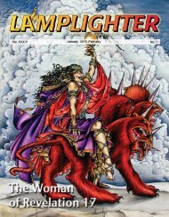 Lamplighter Jan/Feb 2013 - Lamb & Lion Ministries