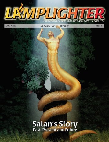 Lamplighter Jan/Feb 2011 - Satan's Story - Lamb & Lion Ministries
