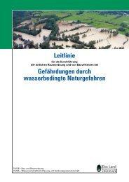 Leitlinie Durchführung der örtlichen Raumordnung/Bauverfahren