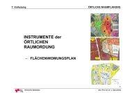 7. Vorlesung ÖRTLICHE RAUMPLANUNG - lamp.tugraz.at