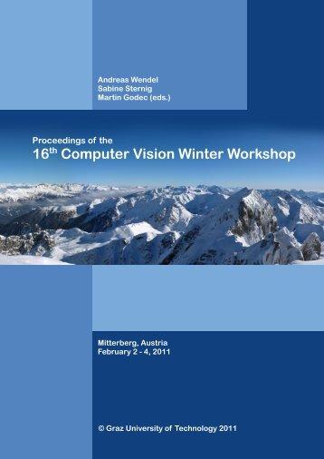 16th Computer Vision Winter Workshop - lamp.tugraz.at - Graz ...