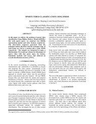 Xavier Gibert, Huiping Li and David Doermann - University of ...
