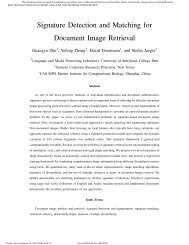 Signature Detection and Matching for Document Image Retrieval