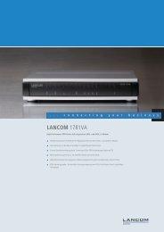 LANCOM 1781VA - LANCOM Systems GmbH