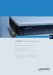 LANCOM 2-Year Warranty Extension - LANCOM Systems GmbH