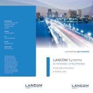 forbinder din virksomhed - LANCOM Systems GmbH