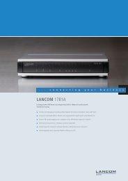 LANCOM 1781A - LANCOM Systems GmbH