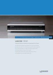 LANCOM 1781EF - LANCOM Systems GmbH