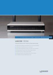LANCOM 1781EW - LANCOM Systems GmbH