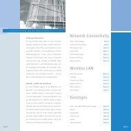 Network Connectivity Wireless LAN Sonstiges - LANCOM Systems ...