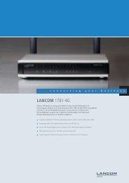 LANCOM 1781-4G - LANCOM Systems GmbH