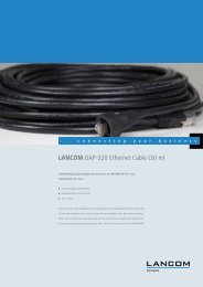 LANCOM OAP-320 Ethernet Cable (30 m) - LANCOM Systems GmbH