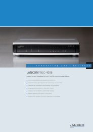 LANCOM WLC-4006 - LANCOM Systems GmbH