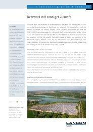 TAUBER-SOLAR Gruppe - LANCOM Systems GmbH