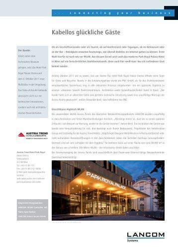 Austria Trend Hotels & Resorts - LANCOM Systems GmbH