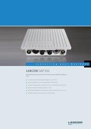 LANCOM OAP-322 - LANCOM Systems GmbH