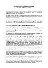 Grundsätze der Jugendhilfeplanung - Landkreis Bautzen