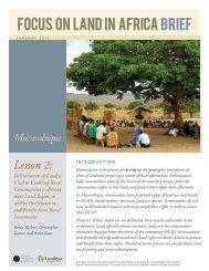 Lesson 2: - Land Portal