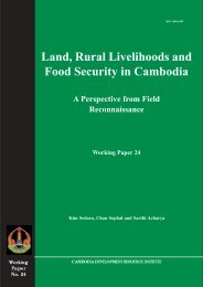 Land, Rural Livelihoods and Food Security in Cambodia - Land Portal
