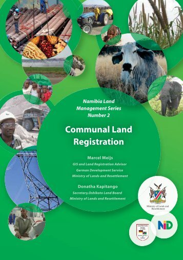Booklet on Communal land Registration